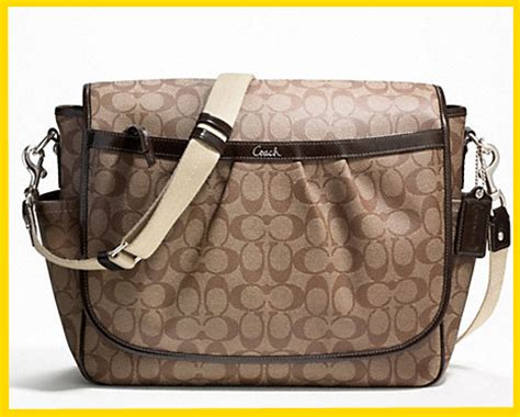 couch diaper bags coach as a baby diaper bag mommy 2k