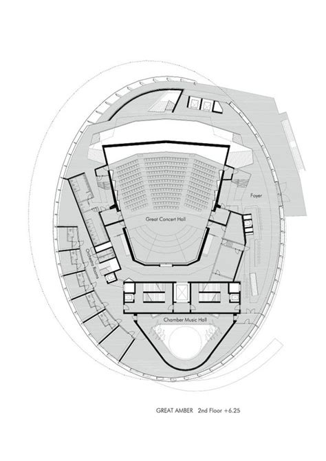 concert hall floor plan great amber concert hall volker giencke archdaily