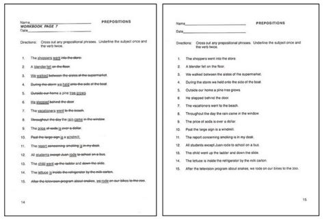 Grammar Worksheets Answers by Printables Grammar Worksheets With Answers Ronleyba