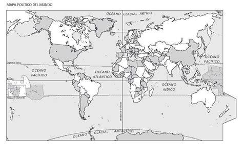 imagenes de un planisferio en blanco y negro planisferio politico lineas imaginarias imagui