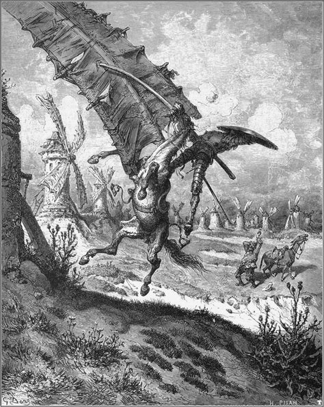 don quixote tilting at windmills