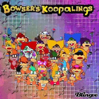 bowser's koopalings blingee*!!! picture #136154001