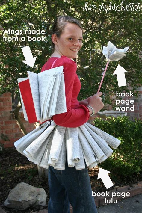 Diy Projects For Teens book fairy halloween costume dukes and duchesses