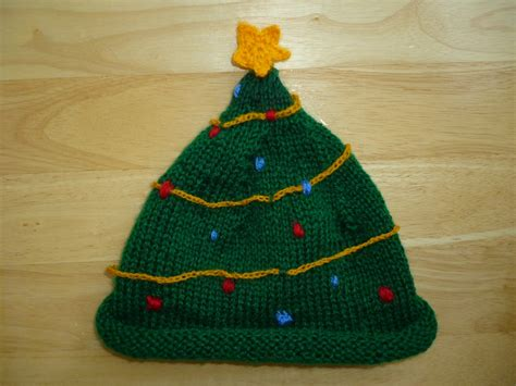 items similar to knitted christmas tree hat on etsy