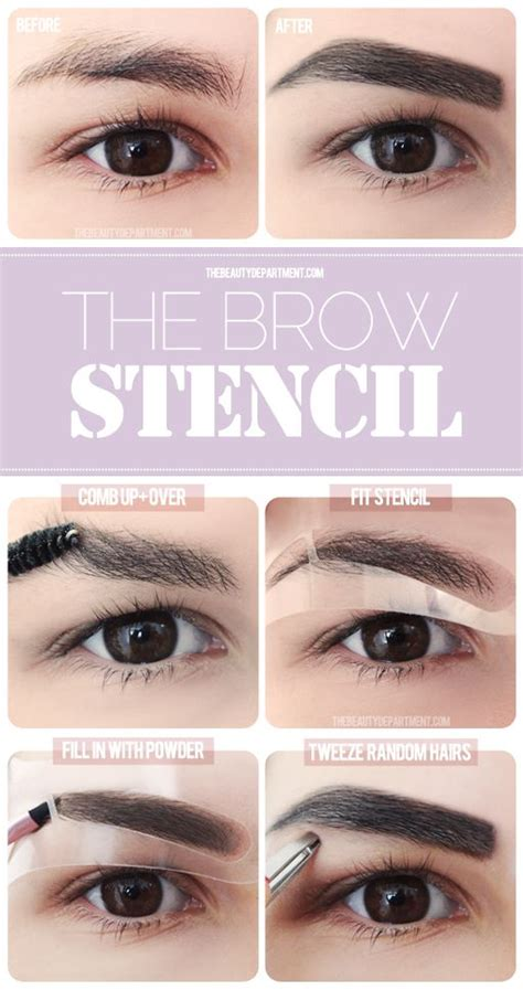 tutorial eyeliner stencil tbd eye focus easy brows powder eyebrows and the