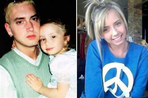 eminem child 10 kids of celebrities all grown up