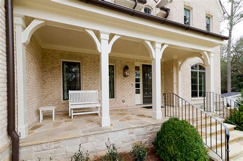 Porch Corbels Brackets by Chastain Custom Build Traditional Porch Atlanta By