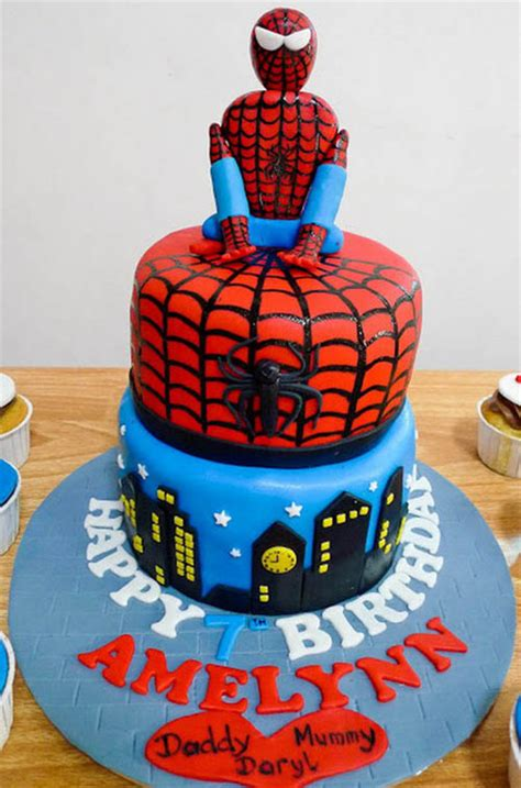 cara membuat kue ulang tahun spiderman pin inspirasi with songket affairs sa diaries ib169
