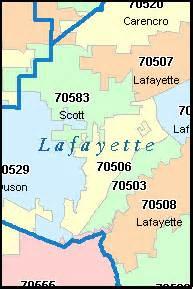 broussard louisiana la zip code map downloads