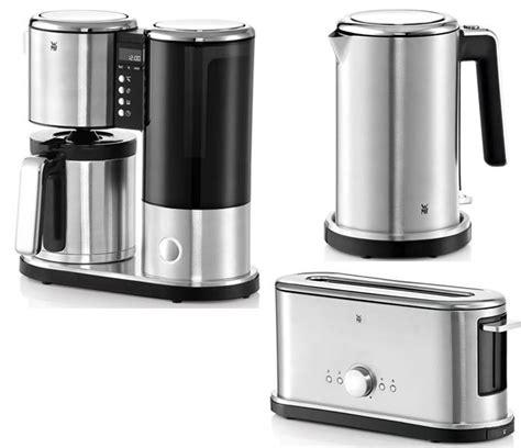 kaffeemaschine wasserkocher toaster wmf lineo fr 252 hst 252 cksset thermo wasserkocher toaster und