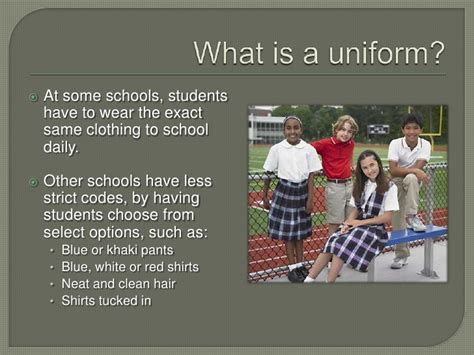 Should Students Wear Uniforms In School Essay by Students Should Wear Uniforms To School