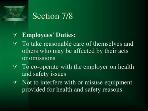 hswa section 6 d part 4 hswa revision law