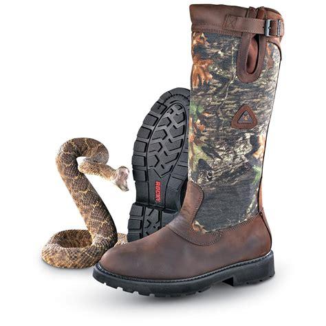 snake boots for sale s rocky 174 waterproof snake boots mossy oak 174 brush