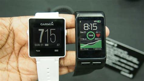 reset time on garmin vivosmart garmin vivoactive hr first look a smartwatch with heart