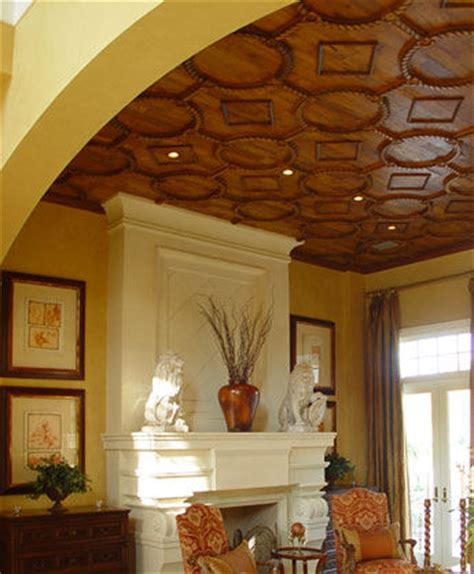Custom Ceiling Designs by Architectural Woodwork By Taracea Custom World Style