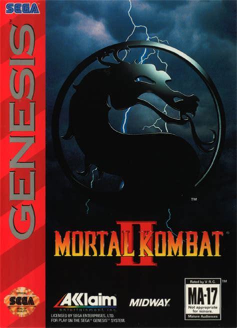 play mortal kombat 2 sega genesis online | play retro