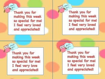 printable thank you notes from teachers to students teacher appreciation thank you notes to students from