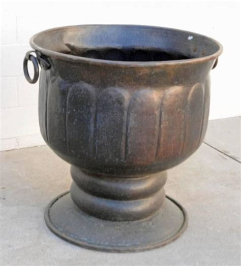 Antique Copper Planter by Antique Copper Planter For Sale At 1stdibs