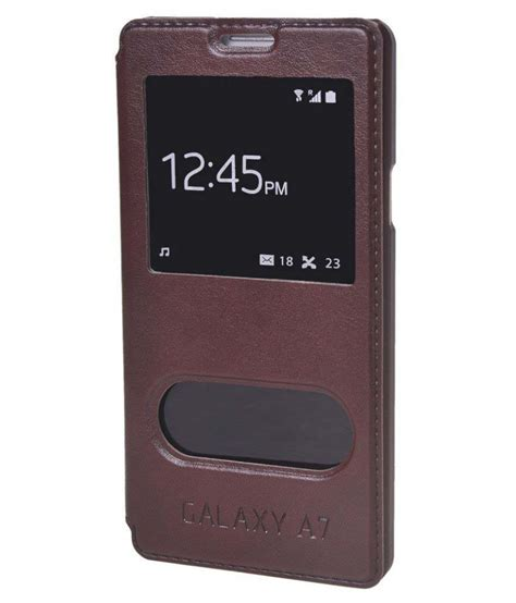 Flip Samsung A7 2016 excelsior leather flip cover for samsung galaxy a7 2016