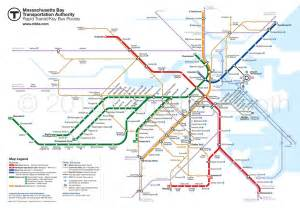Mbta Boston Map by Design The Boston Mbta Map For Free So The Transit