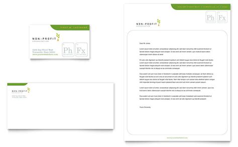 charity letterhead environmental agricultural non profit business card