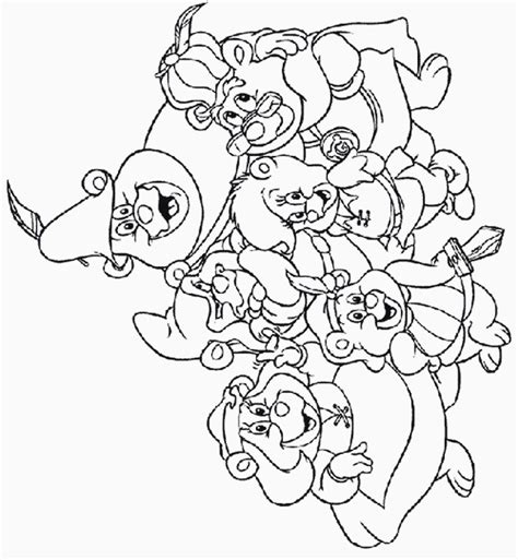 Gummi Bears Coloring Pages gummi bears coloring pages coloringpagesabc