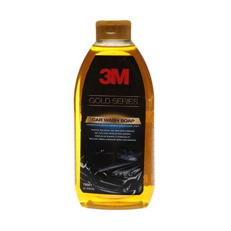 Shoo Mobil 3m Car Wash Gold Series Pouch Refill jual 3m gold series car wash soap bottle 500 ml harga kualitas terjamin blibli