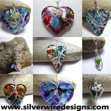 Handmade Jewelleries - silver wire designs handmade jewellery