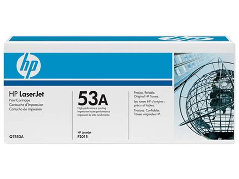 Toner Q7553a hp 53a black laserjet toner cartridge