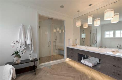 L Shaped Shower Screens Over Bath modern farmhouse master bathroom modern bathroom