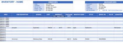 inventory spreadsheet template for excel free excel inventory templates