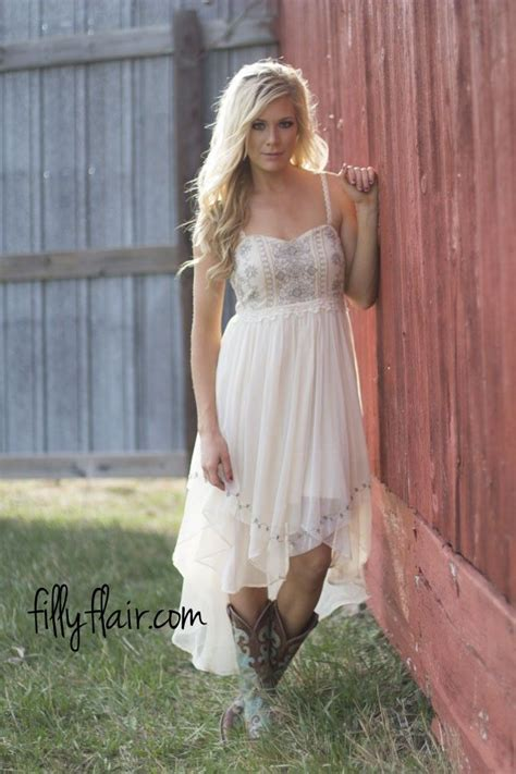 Dress Western Style 636 best boots and dresses images on
