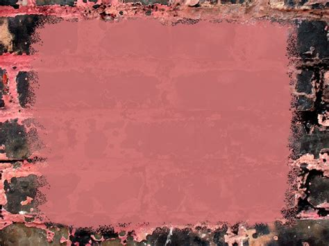 Brick Pink Frame Template Powerpoint Background Available Buy Powerpoint Templates