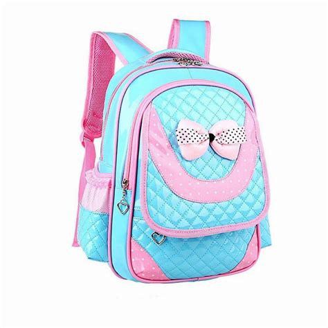 new brand backpacks child 2015 quality school bag leather