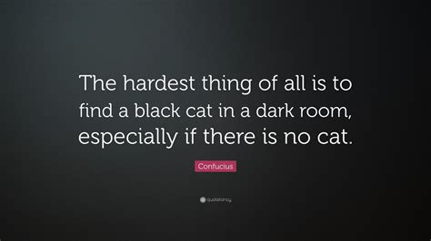 how to find a black cat in a room the psychology of intuition influence decision and trust books confucius quote the hardest thing of all is to find a