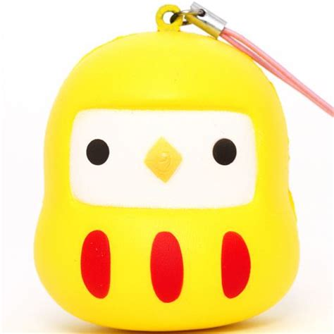 modes 4 u squishy yellow bird squishy cellphone charm food squishy