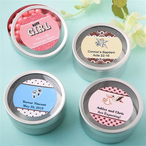 Baby Shower Mint Tins by Quot Personalized Expressions Quot Silver Mint Tin Baby Shower