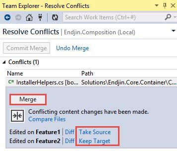 git tutorial merge conflict using git for net development part 4 resolving merge