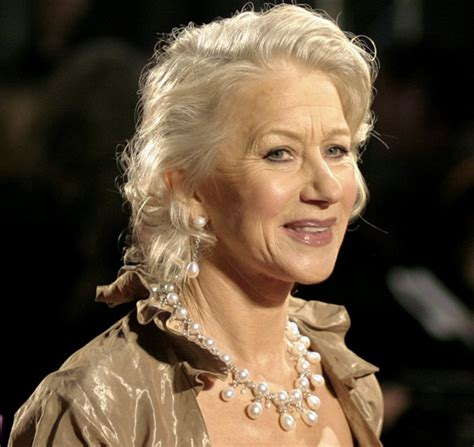 helen mirren hairstyles for l oreal replay rihanna october 2014