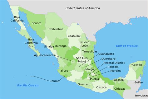 map for mexico file mexico map svg wikimedia commons