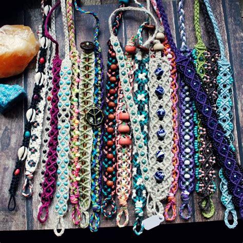 Handmade Hemp Jewelry - 25 best ideas about macrame jewelry on