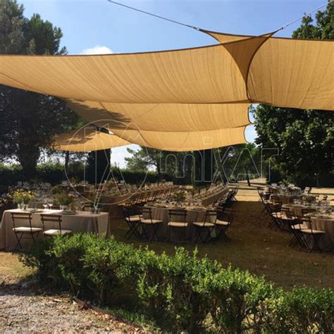 vele per terrazzi vele per matrimoni ed eventi toscana with coperture a vela