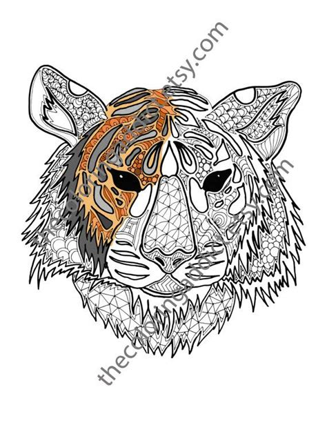 advanced tiger coloring pages 91 image advanced tiger coloring pages download tiger