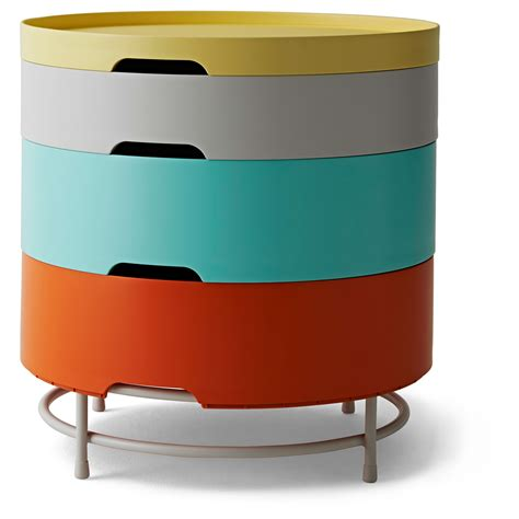 ikea ps 2014 storage table multicolour 44 cm ikea