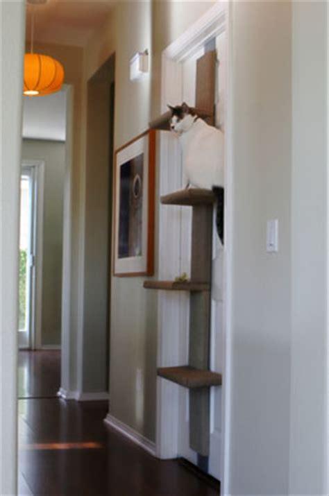 door mounted cat tree pet project