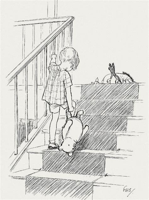 E H Shepard Sketches gems e h shepard s original winnie the pooh drawings