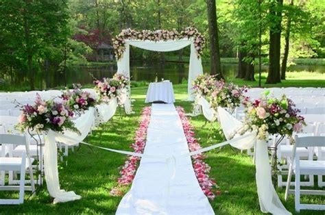 Amerikanische Hochzeitsdeko by Heiraten Im Garten 100 Hochzeit Deko Ideen