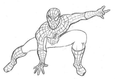 ultimate spiderman coloring pages for kids new coloring