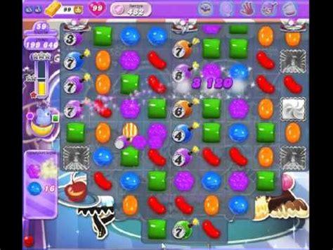 candy crush saga dream land level 482 ce youtube