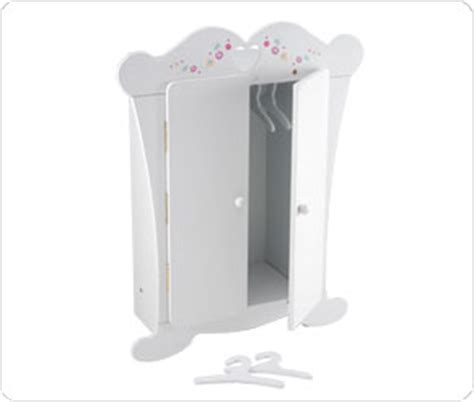 baby born wardrobe and changing table wooden doll wardrobe
